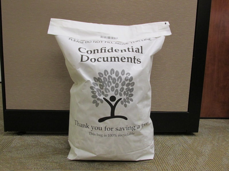 ARDS 6 gallon shred bag